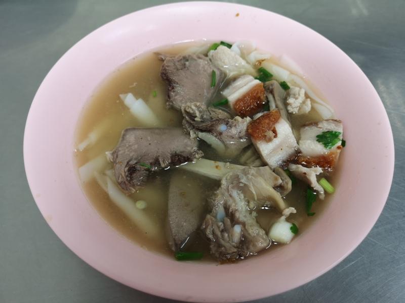 NaiEk12 Bangkok-陳億粿條店Nai Ek Roll Noodles 中國城的早餐名店 濃濃胡椒香 食材豐富CP值高的小吃