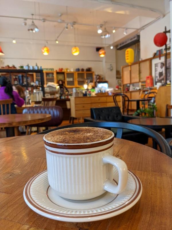 luguocafe21 大同-爐鍋咖啡 鬧中取靜的環境  一杯咖啡享用大稻埕
