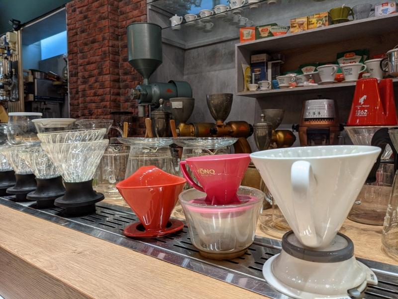 yourmind11 台中南區-黝脈咖啡 咖啡達人亮收藏 手沖咖啡喝到飽 舒服不限時