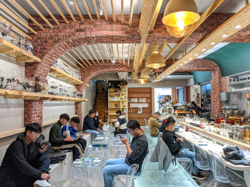 yourmind24 台中南區-黝脈咖啡 咖啡達人亮收藏 手沖咖啡喝到飽 舒服不限時