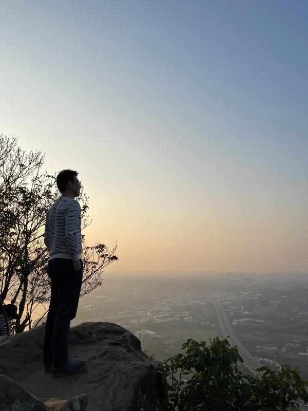 yuanmountain13 三峽-鳶山 登高望遠 擁抱最寬闊的二高景致