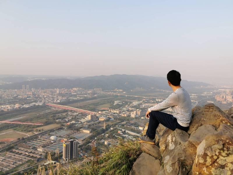yuanmountain14 三峽-鳶山 登高望遠 擁抱最寬闊的二高景致