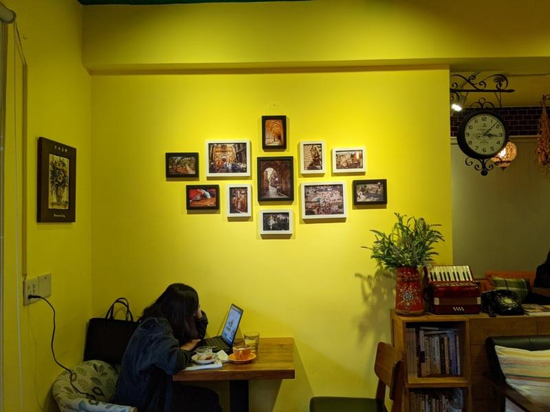 shalom13 基隆信義-夏隆 靜巷中的一杯咖啡 感受微雨的優閒