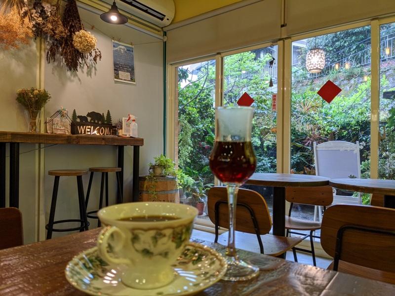 shalom20 基隆信義-夏隆 靜巷中的一杯咖啡 感受微雨的優閒