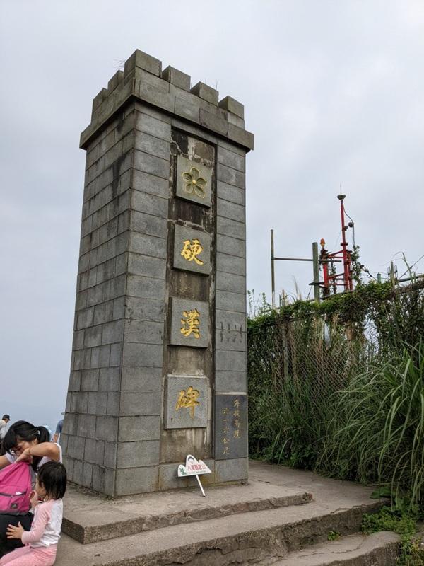 toughmanhill2214 八里-觀音山 硬漢嶺 景色開闊享受臺北盆地大屯山與台灣海峽