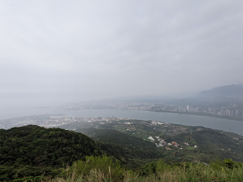 toughmanhill2215 八里-觀音山 硬漢嶺 景色開闊享受臺北盆地大屯山與台灣海峽