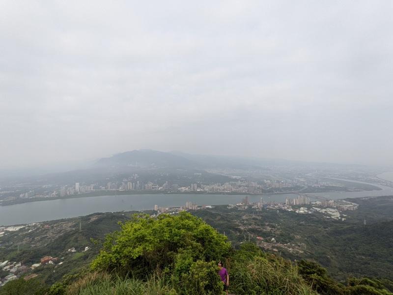 toughmanhill2216 八里-觀音山 硬漢嶺 景色開闊享受臺北盆地大屯山與台灣海峽