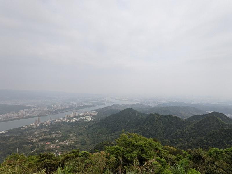 toughmanhill2217 八里-觀音山 硬漢嶺 景色開闊享受臺北盆地大屯山與台灣海峽
