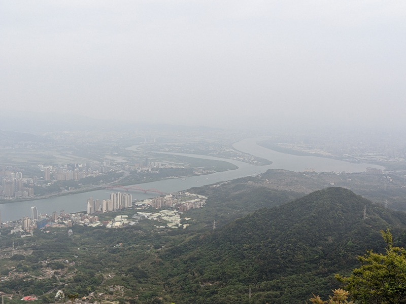 toughmanhill2218 八里-觀音山 硬漢嶺 景色開闊享受臺北盆地大屯山與台灣海峽