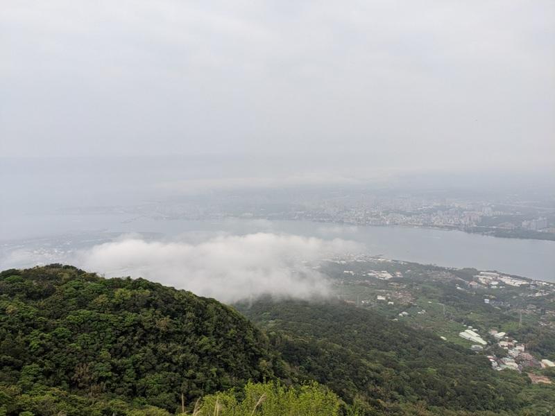 toughmanhill2219 八里-觀音山 硬漢嶺 景色開闊享受臺北盆地大屯山與台灣海峽