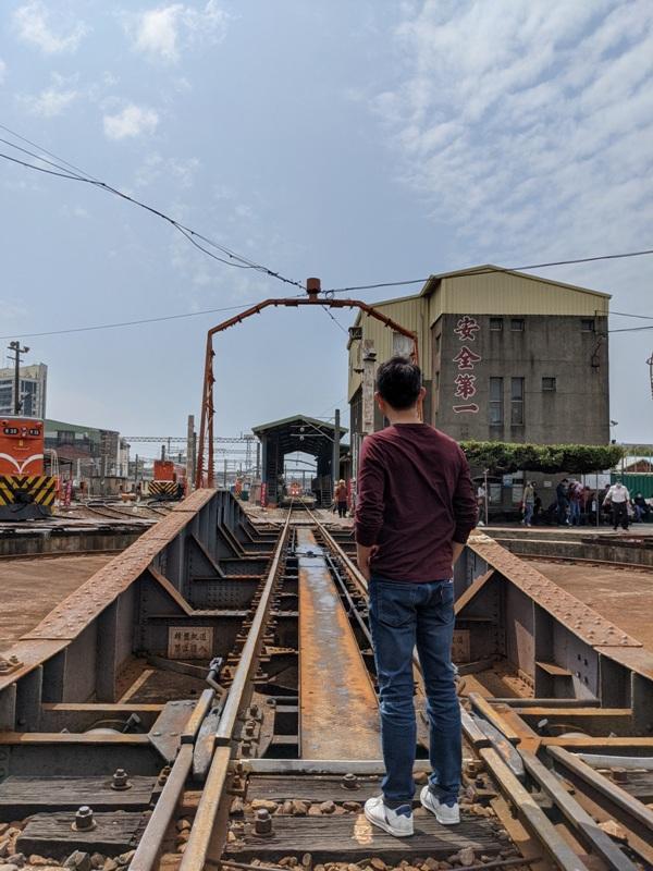 trainhouse10 彰化-扇形車庫 與火車頭的近距離接觸