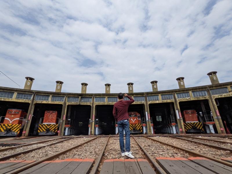 trainhouse17 彰化-扇形車庫 與火車頭的近距離接觸