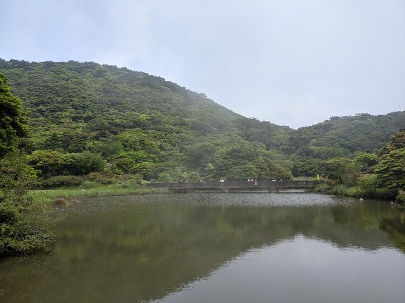 datung11 陽明山-大屯山 芒草箭竹 捕捉美麗的雲海