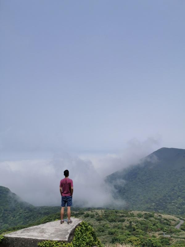 datung17 陽明山-大屯山 芒草箭竹 捕捉美麗的雲海