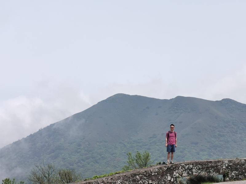 datung19 陽明山-大屯山 芒草箭竹 捕捉美麗的雲海