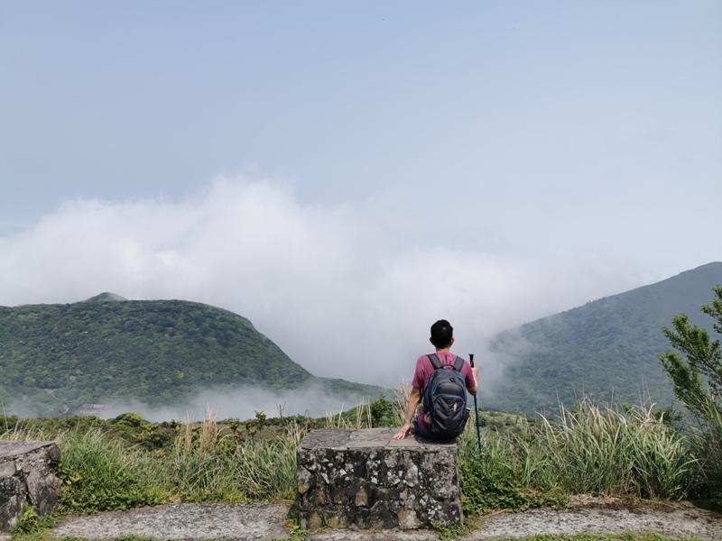 datung20 陽明山-大屯山 芒草箭竹 捕捉美麗的雲海