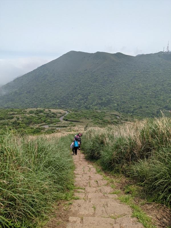datung23 陽明山-大屯山 芒草箭竹 捕捉美麗的雲海