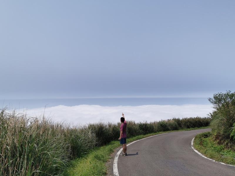 datung38 陽明山-大屯山 芒草箭竹 捕捉美麗的雲海