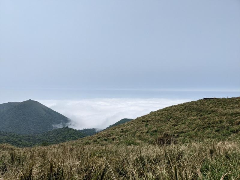 datung39 陽明山-大屯山 芒草箭竹 捕捉美麗的雲海