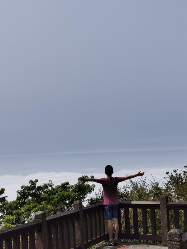 datung44 陽明山-大屯山 芒草箭竹 捕捉美麗的雲海