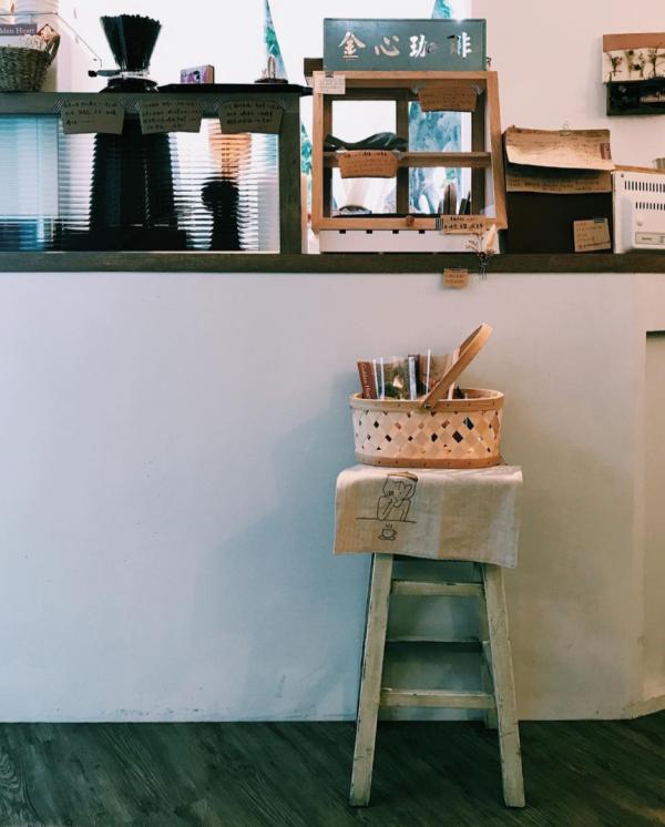 goldenheart08 大同-金心咖啡 轉角遇到可愛小店在赤峰街區