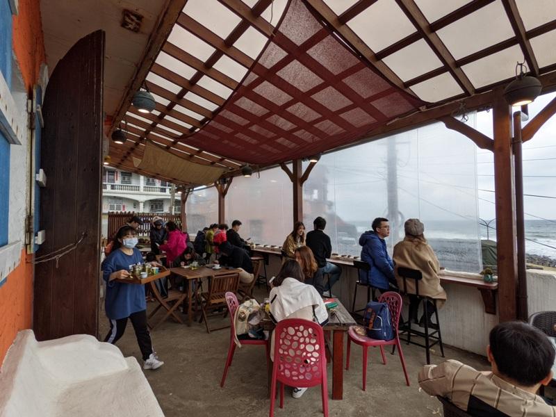nonamecoffee05 金山-跳石沒有名字的咖啡店 北海岸第一排 景觀一流超放鬆