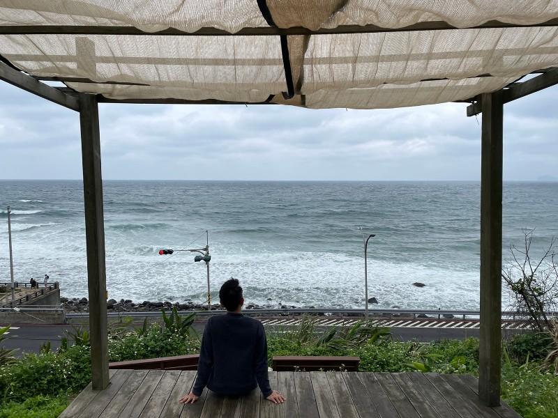 nonamecoffee13 金山-跳石沒有名字的咖啡店 北海岸第一排 景觀一流超放鬆