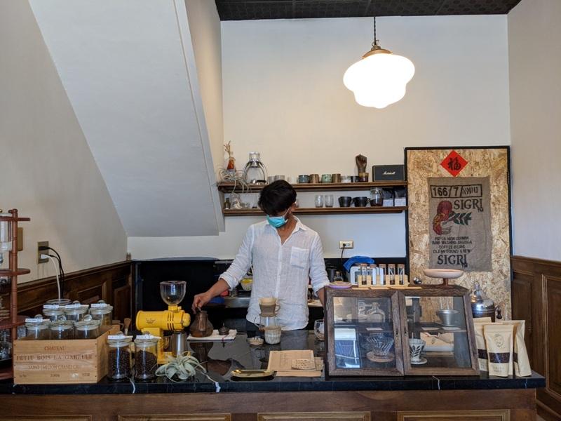 ayun06 恆春-小鬍子 恆春老街上小巧咖啡