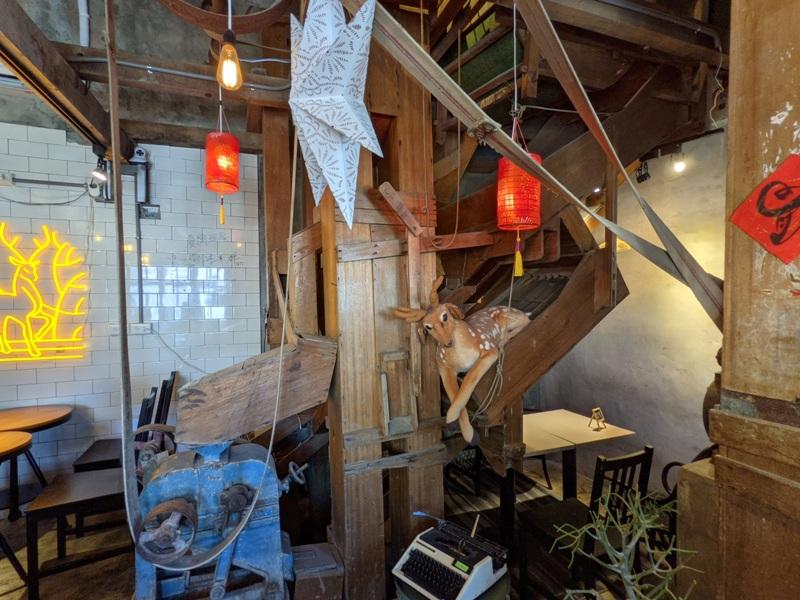 miguvillage2207 恆春-麋谷Migu village在碾米廠吃飯喝咖啡