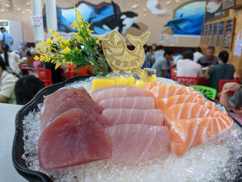 mschiu09 恆春-後壁湖邱家生魚片 隨便點很好吃