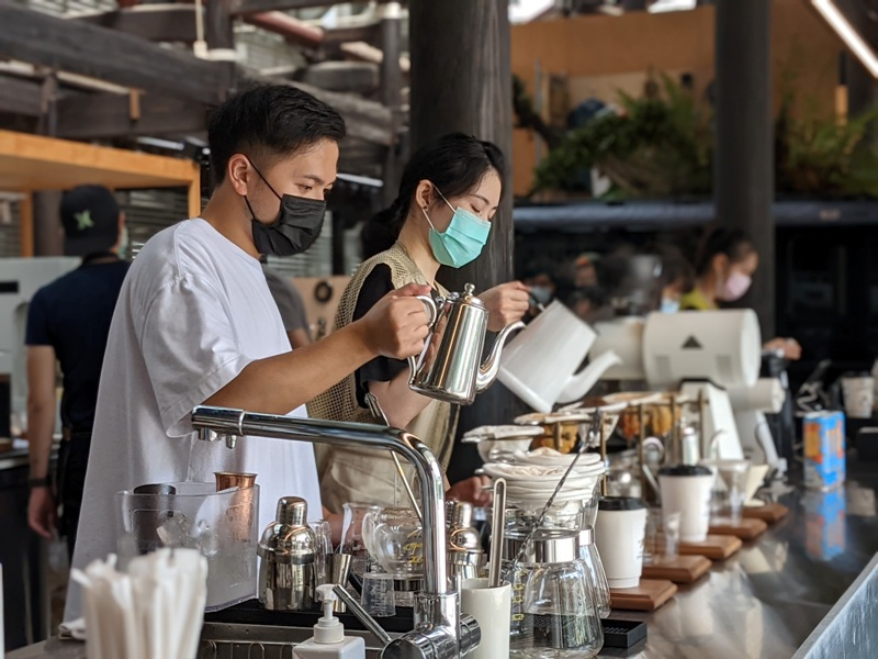 glabstopover27 台中西區-中島GLAB*Coffee Stopover古蹟中的文創 來一杯咖啡經典在府儒考棚