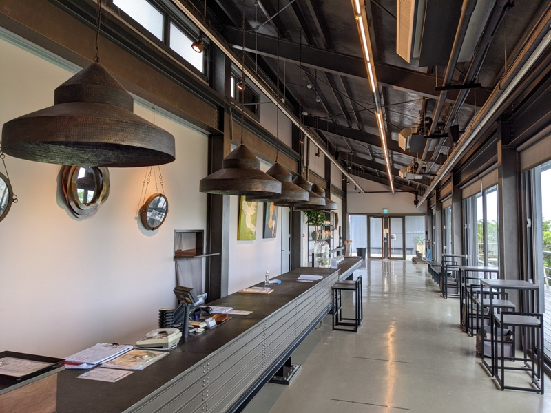 tongluoteafactory11 銅鑼-銅鑼茶廠 日式茶廠 山景茶園滿是緑意